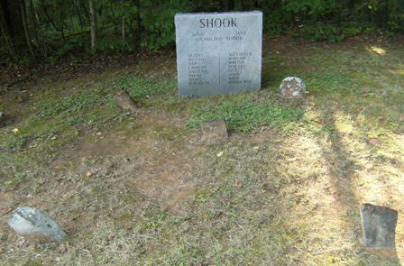 John and Jane Shook, Shook Cemetery, Rabun Co., GA